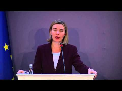 Mogherini at EU-Turkey High Level Political Dialogue Meeting, Ankara