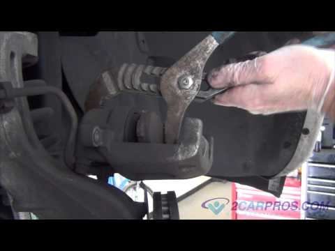 Front Brake Pads & Rotor Replacement Ford Explorer 2002-2005