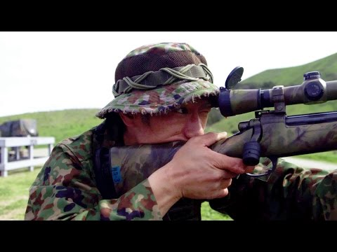 Japanese Self-Defense Force Scout Sniper