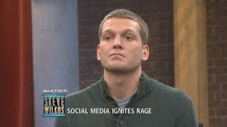 Tyler's Results Cause Complete Chaos! (The Steve Wilkos Show)
