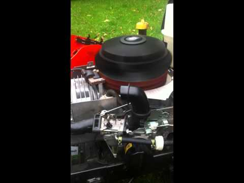 Briggs and Stratton 19.5 engine issue