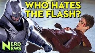 Why Grant Gustin`s Flash Isn`t In BvS