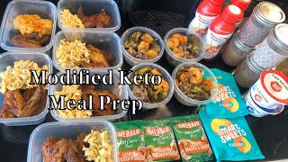 "|What I eat in a Week!|""Modified"" Keto Meal Prep! Maintaining weight loss! 50 Net Carbs! All Flavor!"