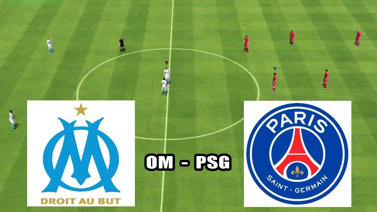 fifa 14   le match om - psg