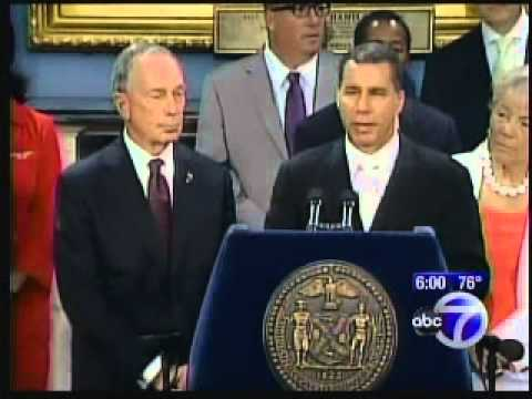 ABC News: Governor Paterson vs Bloomberg