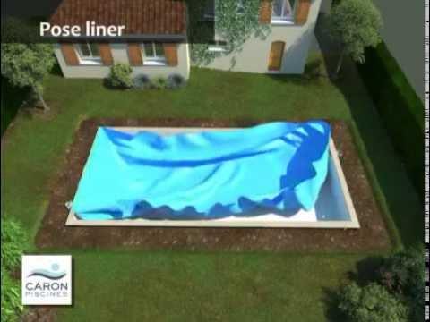 CARON Piscines : Montage d'une piscine en béton