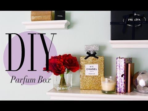 DIY Chanel No 5 Perfume Bottle Room Decoration