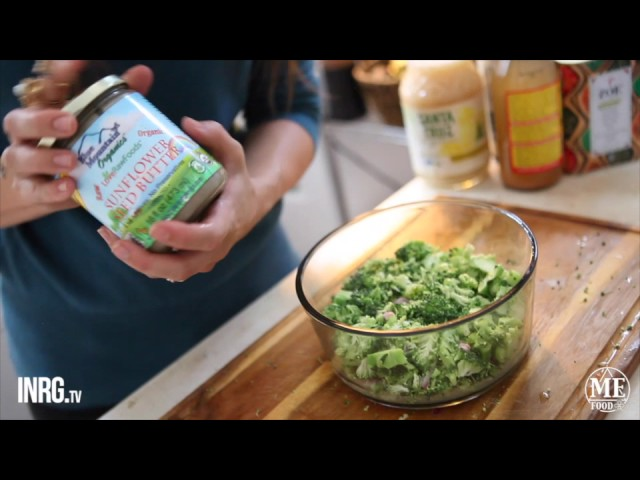 INRG TV   MEFood Sun Broc Slaw Preparation with Lisa Ralston 540p