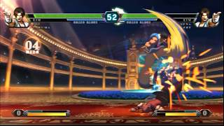 The King Of Fighters XIII Online Ranked Matches