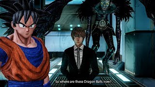 Light Yagami Wants To Summon Shenron! JUMP FORCE - Boruto vs Gon & Vegeta  Story Mode Gameplay