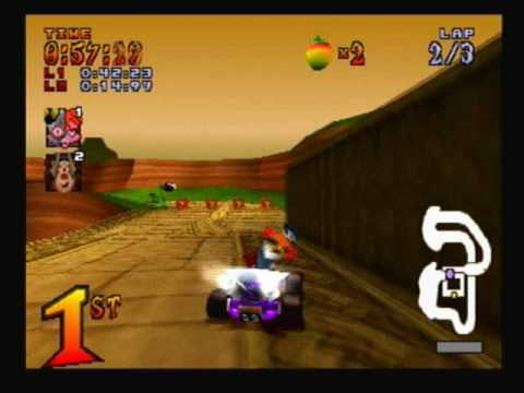 Let's Play Crash Team Racing (CTR) - Part 10