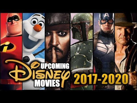 Upcoming Disney Movies 2017 - 2020