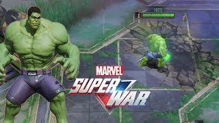 MARVEL Super War MOBA: Hulk Gameplay (CBT)