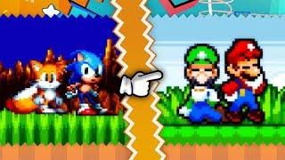 Sonic Mania ✪ Super Mario Mania Mod