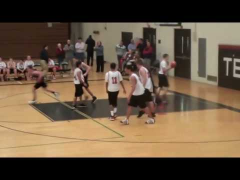 Horace Spencer (Middle school) dunks in game [HD]