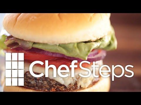 Hi-Tech Veggie Burger