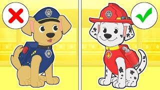 BABY LILY AND MAX 🐾 Max Dresses up as Marshall and Lily as Katie from Paw Patrol