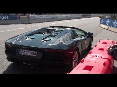 Cool Car Race 2014 - On track - Lamborghini Aventador, Gallardo Balboni, Ferrari 458 and more...