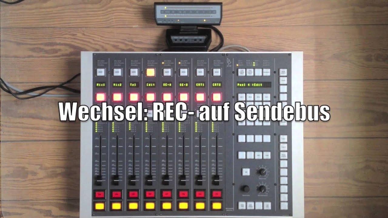DHD RM 4200 Digital Radio Broadcast Mischpult Konsole Mit