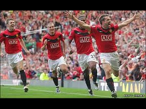 Michael Owen's Greatest Moment as a United Player The Stretford End Erupts United 4 - City 3 2009