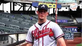 Craig Kimbrel Imitates Braves' Pitchers (Glavine, Maddux and Smoltz)