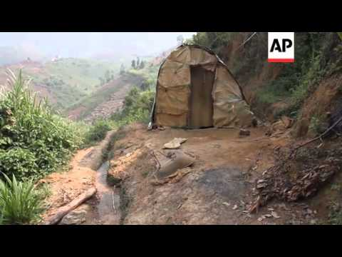 Impoverished workers face dangerous conditions and little pay in DRC mines