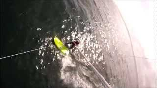 Kitesurf Racing Upwind & Tacking