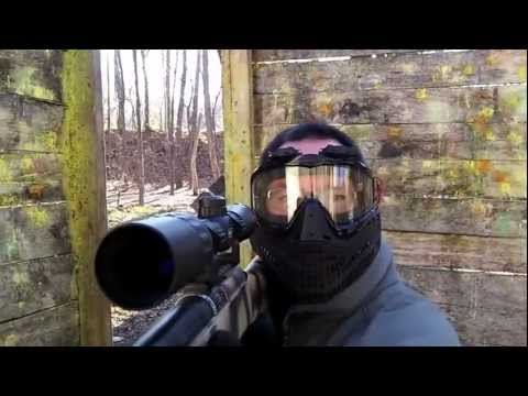 Airsoft Sniper action at Bing Field. (Tokyo Marui vsr-10 Gspec)