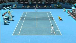 Grand Slam Tennis 2 - Novak Djokovic vs. Andy Murray - [5 min Unedited Gameplay]