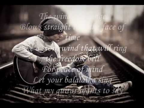 Wind Of Change - Scorpions [with Lyrics] video