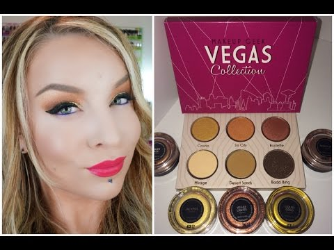 1st Impression : Look : Makeup Geek Vegas Lights Collection