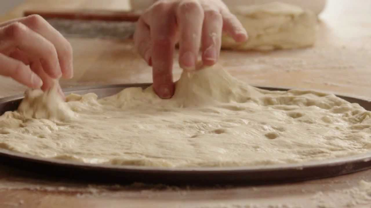 How to Make Jay's Signature Pizza Crust - YouTube