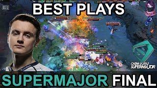China Dota2 Supermajor BEST PLAYS FINAL DAY Highlights Dota 2 by Time 2 Dota #dota2