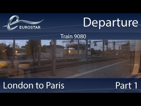 In this Video, I was on Train No. 9080 (British Rail Class 373) which departed from London St Pancras International to Paris Gare du Nord. More Details on th...