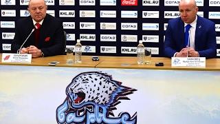 Барыс - Авангард / пресс-конференция
