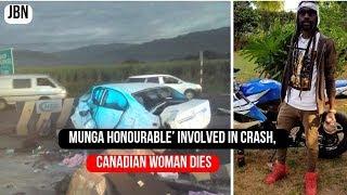 Munga Honorable Involved In Crash Canadian Woman Di3s Jbn