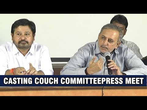 Casting Couch Committee Press Meet on Rules and Regulations |Sri Reddy Protest Against Casting Couch