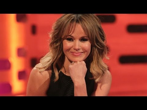 Amanda Holden kisses a bottom cast - The Graham Norton Show - Series 13 Episode 2 - BBC One