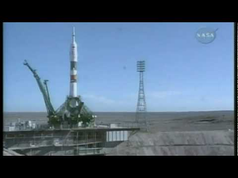 Russian Soyuz spacecraft blasts off on station flight