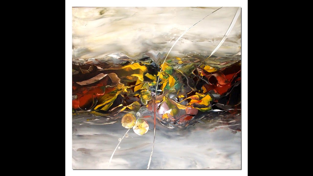 How To Use Acrylic Paint Abstract Painting