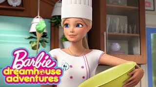 Barbie Cooks Up Fun | Barbie Storytelling Fun - Dreamhouse Adventures Remix | Barbie