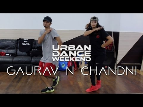 Gaurav n Chandni - 16 Meek Mill Choreography at Urban Dance Weekend 2016