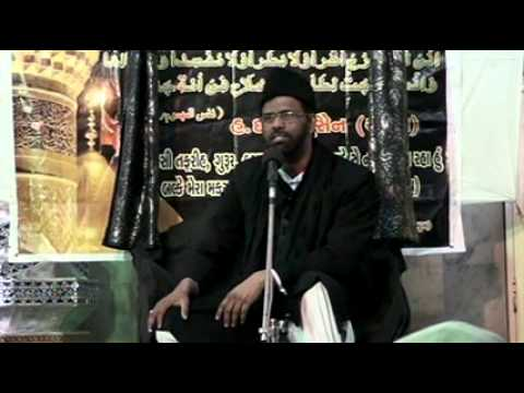 India Maulana Kamran Haider Majlis 5 Asra Muharram/Saffar 1433/2011