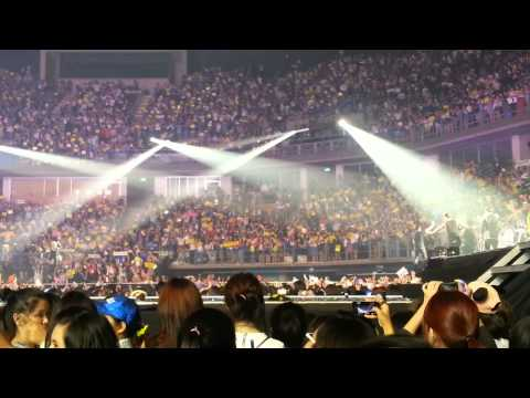 130804 Super Show 5 Live In Bangkok - Ending Part video