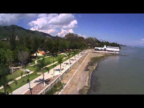 New Malecon in Ajijic, chapala lake Jalisco Mexico