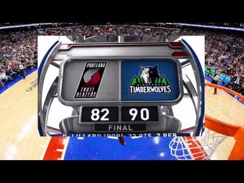 [HD] Portland Trail Blazers vs Minnesota Timberwolves | Full Highlights | December 10, 2014 | NBA