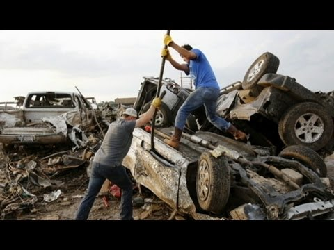 Oklahoma Tornado Video 2013: Mangled Heaps Left Behind