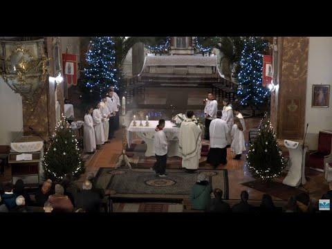 Karácsonyi éjféli szentmise - Makó Szent István Király Plébánia 2019.12.24.