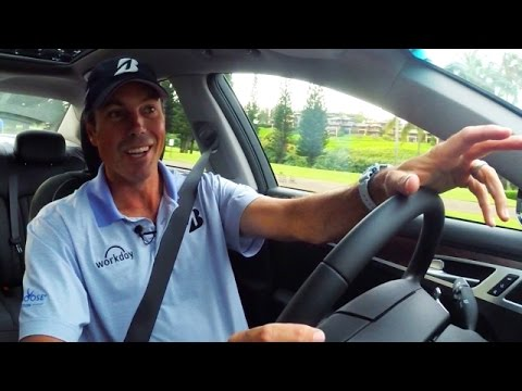 Hyundai ride-a-long: Matt Kuchar