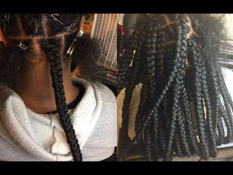 Getting REAL Jumbo Braids   8 Packs of Outre XPression Braiding Hair